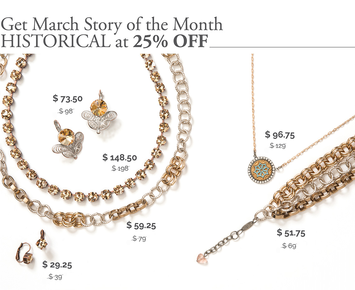 Get March Story of the Month Historical at 25% Off.