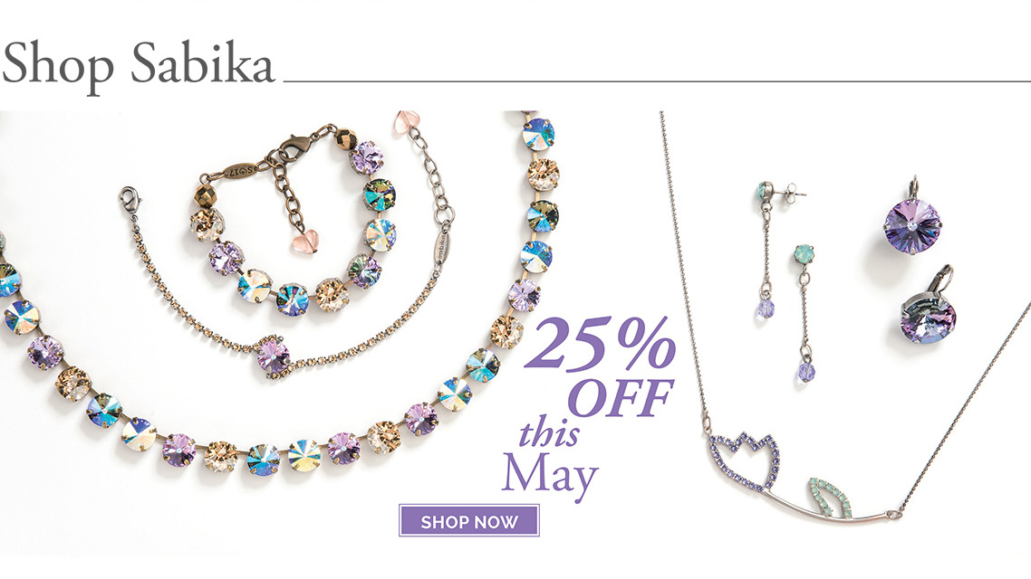 Shop Sabika 25% OFF this May. Click here to shop now.