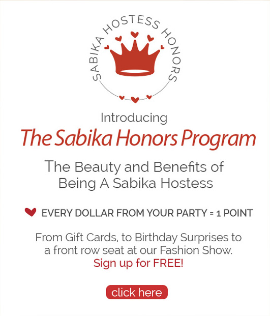 Introducing the Sabika Honors Program - The Beauty and Benefits of Being a Sabika Hostess - Click to Learn More