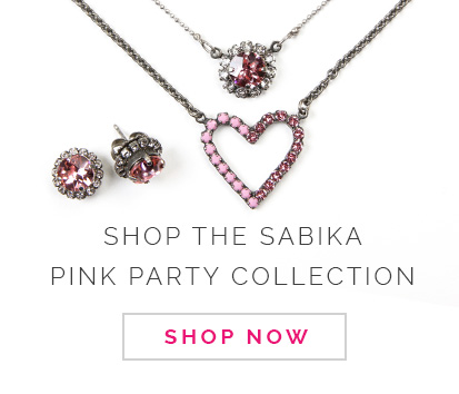 Shop the Sabika Pink Party Collection. Click here to Shop Now.