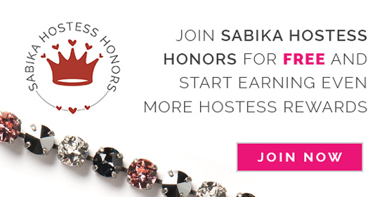 Join Sabika Hostess Honors for FREE and start earning even more Hostess Rewards. Click here to Join Now.