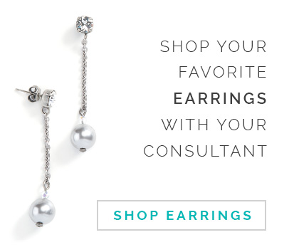 Shop your favorite earrings with your Consultant. Click here to Shop Earrings.