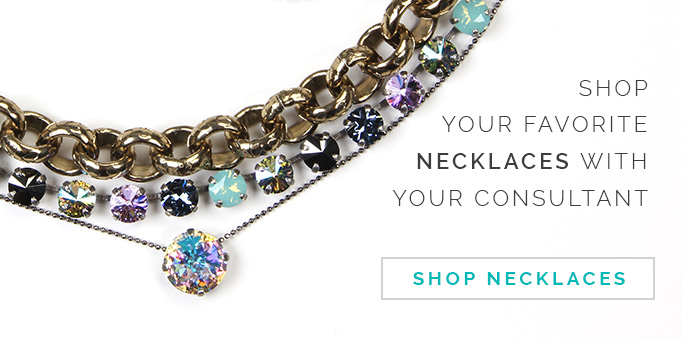 Shop your favorite necklaces with your consultant. Click here to shop necklaces.