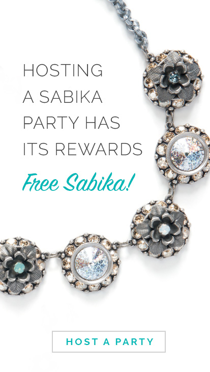 Hosting a Sabika Party has its rewards.. Free Sabika! Click here to Host a Party.